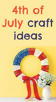Easy and affordable 4th of July craft ideas