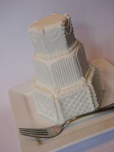 3 tier mini wedding cake