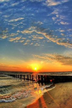 Beach Sunrise - Norfork, Virginia