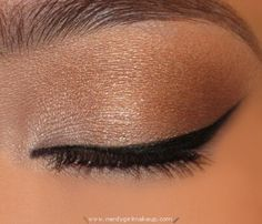 love this neutral eye make-up!