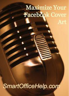 Tips to Maximize Your Facebook Cover Art Podcast #crazysocialmediatips #socialmediadtips