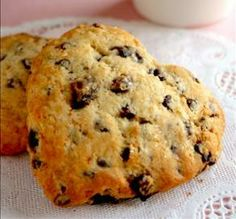 "Dried Cherry & Chocolate Chip Scones: ""The flavor combination is ..."