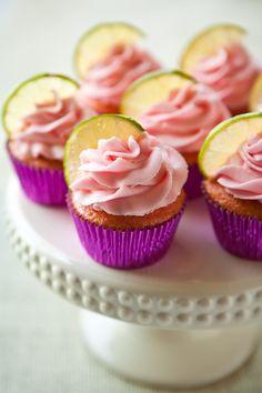 strawberry margarita cupcakes #food