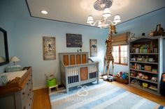 Modern Circus-Themed Nursery - Project Nursery