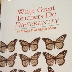 by Todd Whitaker for professional development in teaching!