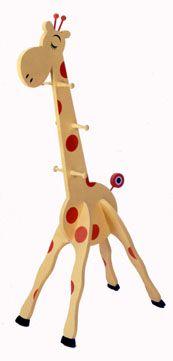 Giraffe Clothes Tree Plans
