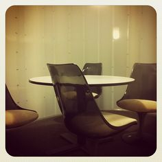"""#Office #Tour 5 - The Pod Room #retro #60s #mod #design"