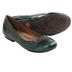 Born Holley Shoes - Leather (For Women) in Ocean, Size 9