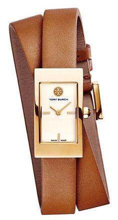 Tory Burch Buddy double wrap watch http://rstyle.me/n/qyhphnyg6