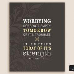 - Strength