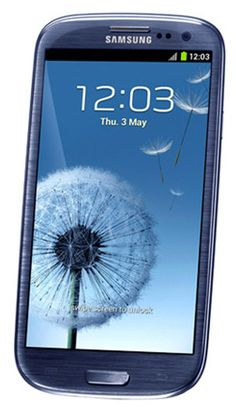 Samsung Mobile Phones I9300 Galaxy S III Pebble Blue at $643.65