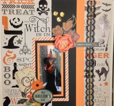 The Witch is In - Scrapbook.com