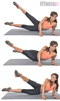 """Karina Smirnoff: Side Scissor Kicks. Train abs and glutes like a dancer! Karina Smirnoff from """"Dancing With the Stars"""" show us one of her favorite moves for abs."""