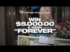 July 2013 Publishers Clearing House Commercials