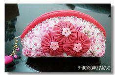 pink pouch, baggi stuff, photo tutorial, diy pink, fun sew
