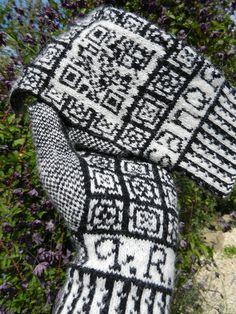 #www.qr-3d.weebly.com #qr #3d #code #knitting #sanquhar QR Code