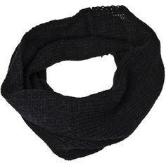 Accessories Hairy Scarf Black ❤ liked on Polyvore