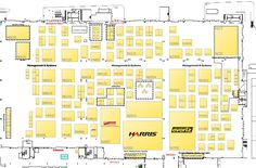 THE NAB show interactive map 2012