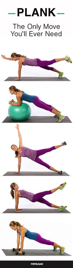 The Only Move You Need to Tone Your Entire Body #plank