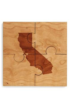 Richwood Creations City/State Puzzle Coasters (Set of 4) available at #Nordstrom Virginia is a choice