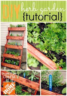 DIY Herb Garden {tutorial}