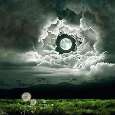 Wonderful timing on this photo harvest moon, sky, night skies, dream, la luna, art, cloud, blue moon, light
