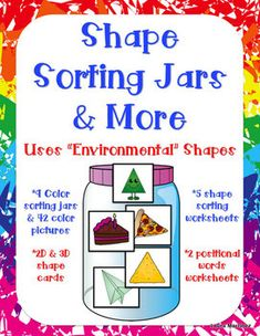 2D and 3D Shape Activities  $