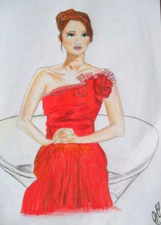 The girl on fire. by ~Diana1924 on deviantART