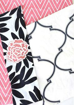 Pink and Navy...bedroom inspiration for toddler girl's room