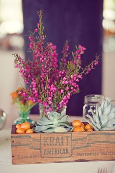 Flowers, Table Decorations