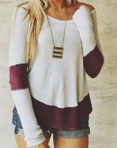jean shorts, fashion, sweater weather, cozy clothes, necklac, closet, casual outfits, surf style, shirt