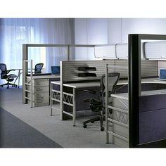 Ethospace System, Glazed Tiles Application - HERMAN MILLER - http://www.hermanmiller.com/products/workspaces/individual-workstations/ethospace-system.html