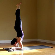 Yoga Sequence for Acheiving the Forearm Stand -- step by step instructions with photos. Really cool! yoga sequenc