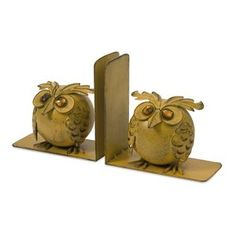 IMAX Viola Owl Bookends (Set of 2)