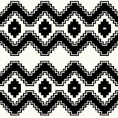 small scale aztec fabric by candykirbydesigns for sale on Spoonflower - custom fabric, wallpaper and wall decals
