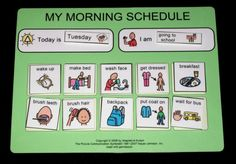 Great Websites to use to make Picture Schedules ...L@@K BethMayJoy and anyone else interested in making picture schedules - CafeMom