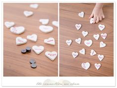 valentines day kids crafts salt dough hearts