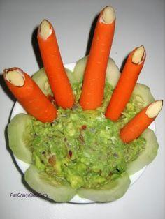 healthy halloween finger foods
