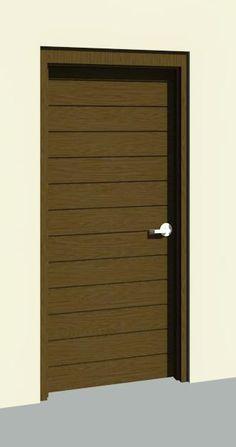 Modern Door Stripes / Puerta Moderna de Madera