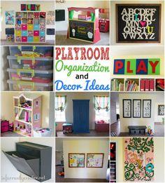 Playroom Organization and Decor Ideas