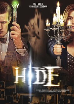 """Doctor Who Series 7b Episode Posters Released - IGN Hide """"With more than a smidgeon of influence from the poster for The Others, Hide looks set to be this season's 'scary one' which Moffat describes as """"a really cracking ghost story""""."""""""