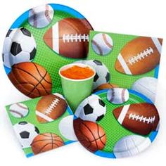 Sports Party Party Supplies
