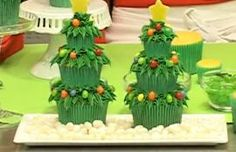 Christmas trim the tree cakes!