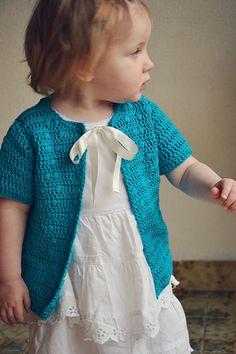 Free Crochet Baby Sweater Pattern.
