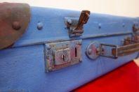 ...a tutaj walizka po nałożeniu farby!/ and here painted suitcase