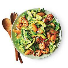 Shrimp, Avocado, and Grapefruit Salad   Cookinglight.com