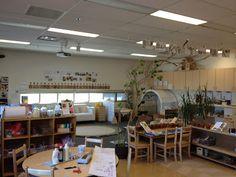 Reggio inspired classroom transformation