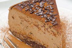 Gluten-free Chocolate Cheesecake  #raw #vegan #glutenfree #sugarfree