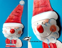 Santa Claus free printable templates