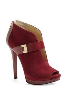 MICHAEL Michael Kors 'Guiliana' Peep Toe Bootie --- Get in my closet!!!!!!